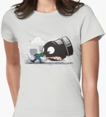 LUIGI: ALWAYS ANGRY Women's Fitted T-Shirt
