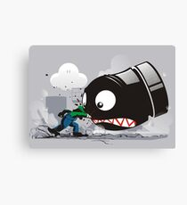 LUIGI: ALWAYS ANGRY Canvas Print