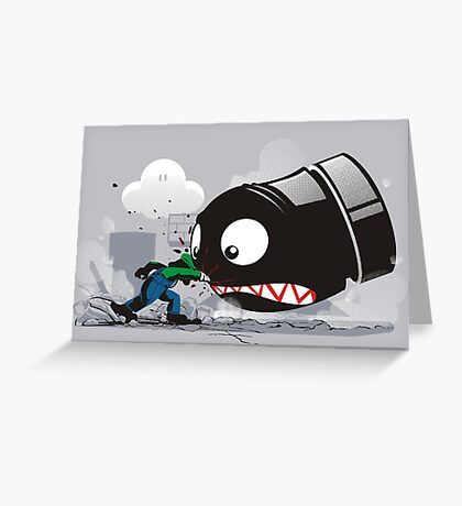 LUIGI: ALWAYS ANGRY Greeting Card