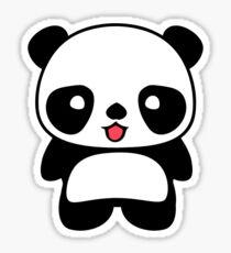 Kawaii Panda T Shirt Sticker By Bitsnbobs Redbubble