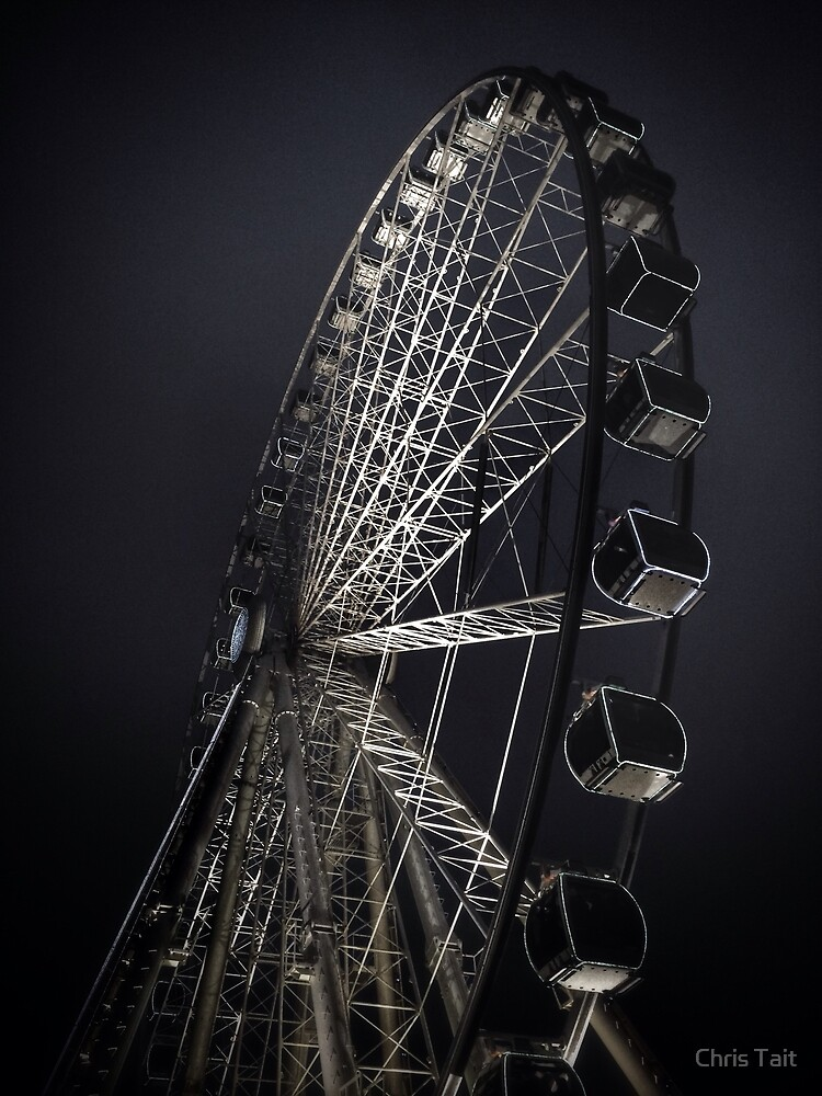 Manchester City Wheel by Chris Tait