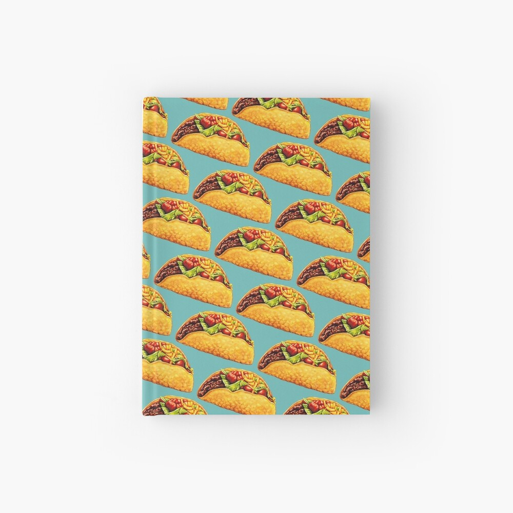 Taco Hardcover Journal
