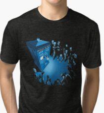 BAD LANDING Tri-blend T-Shirt