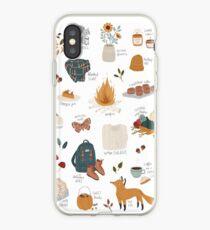 Hello Autumn iPhone Case