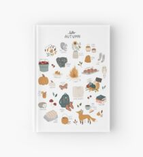 Hello Autumn Hardcover Journal
