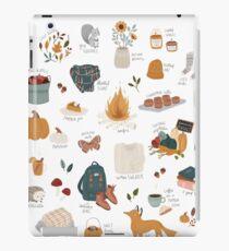 Hello Autumn iPad Case/Skin