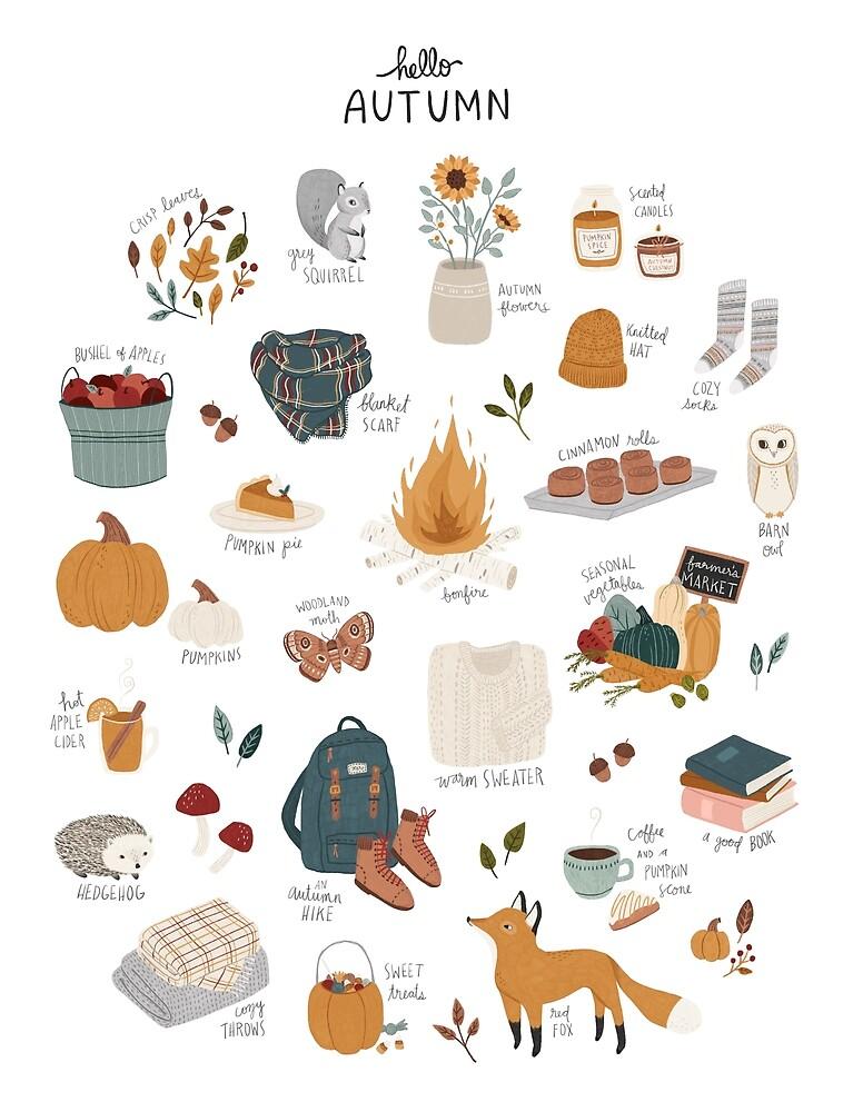 Hello Autumn by Amy Hamilton