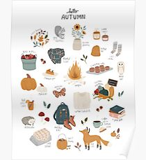 Hello Autumn Poster
