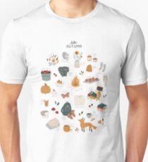 Hello Autumn Slim Fit T-Shirt