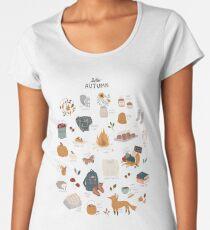 Hello Autumn Premium Scoop T-Shirt