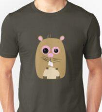 Cartoon Hamster Unisex T-Shirt