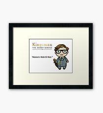 Manners Maketh Man - Harry Hart Framed Print