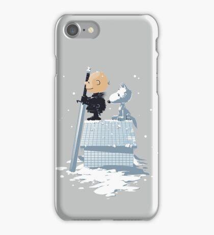 WINTER PEANUTS iPhone Case/Skin