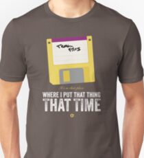 Hackers Movie - Floppy Disk - Cinema Obscura Collection T-Shirt