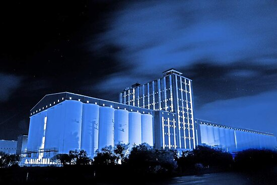 Kwinana Grain Terminal  by EOS20