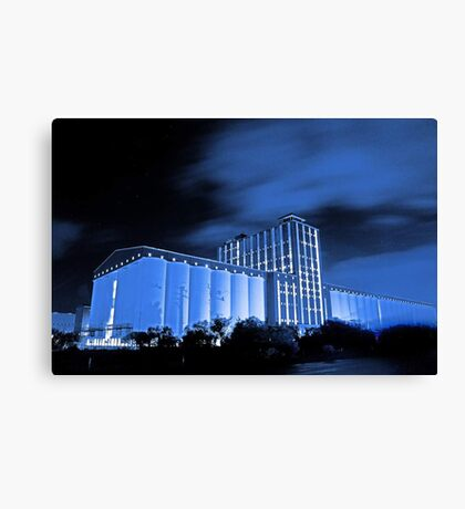 Kwinana Grain Terminal  Canvas Print