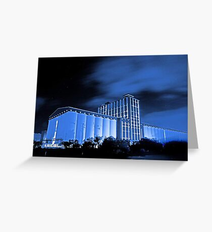 Kwinana Grain Terminal  Greeting Card