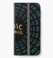 Stoic Calmness - Find Your Calm - Resist Anger iPhone Wallet/Case/Skin