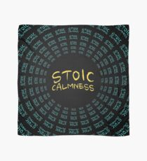 Stoic Calmness - Find Your Calm - Resist Anger Scarf
