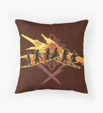 THE TWO SWORDS Throw Pillow