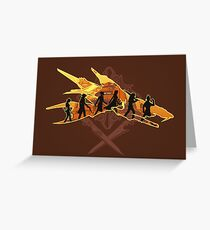 THE TWO SWORDS Greeting Card