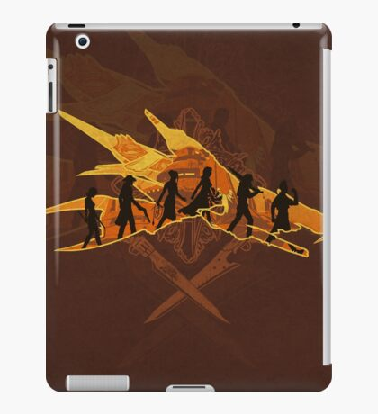 THE TWO SWORDS iPad Case/Skin