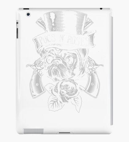 Pugs N Roses iPad Case/Skin