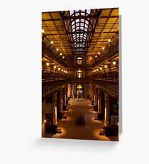 The Mortlock Wing, Adelaide Library, Australia Greeting Card