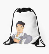 Handsome Jack Drawstring Bag