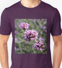 Lilac Verbena Flower Sprig Unisex T-Shirt