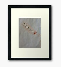 Outlet Expressions Framed Print