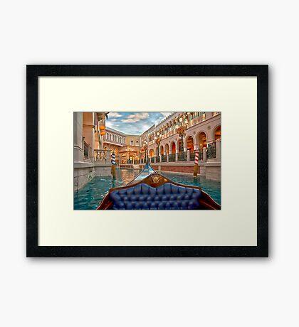 The Gondola Framed Print