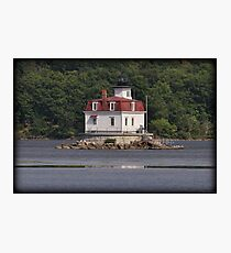 Esopus Meadows Lighthouse Afternoon Photographic Print