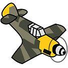 Chibi BF-109 by Hawtdawg65