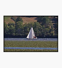 Hudson Saturday Sailing Photographic Print