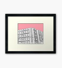 Park Hill Sheffield Pink Framed Print