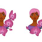 Orchids  by Chantelle Janse van Rensburg
