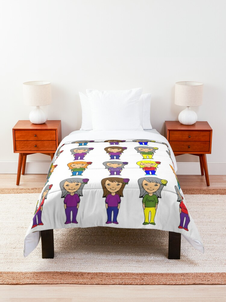 Alternate view of Sisters Comforter