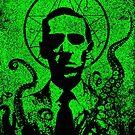 H. P. Lovecraft by ARTmuffin