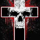 Schädel-Kreuz von American  Artist