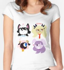 Show By Rock! Plasmagica Women's Fitted Scoop T-Shirt
