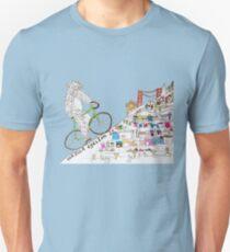 gorilla cycling ... Unisex T-Shirt