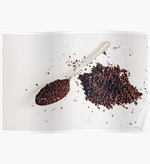 Spoon of coffee Poster