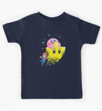 Kirby's Joyride Kids Tee