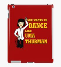 Uma Thurman iPad Case/Skin