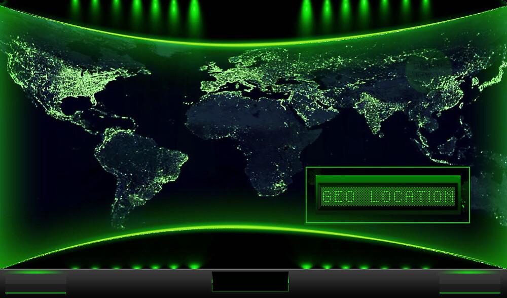 Geo Location- Wallpaper by DigitalArtwork