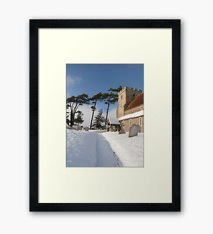 St Andrews Beddingham Framed Print