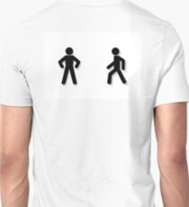 pedestrian traffic Unisex T-Shirt