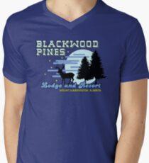 Until Dawn - Blackwood Pines Lodge Men's V-Neck T-Shirt