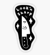 Look'n Sharp Transparent Sticker